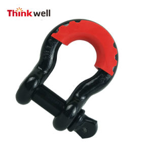 Forged Carbon Steel Receiver Hitch D-Ring with 3/4 Inch Shackle pictures & photos