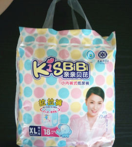 Shengjie OEM Kiss Baby Pull Baby Diaper in Bale pictures & photos