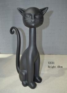 Fiberglass Cat Decoration and Cat Statues for Sale pictures & photos