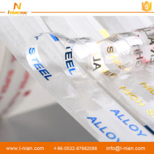 Steel Waterproof Custom Transparent Adhesive Label pictures & photos