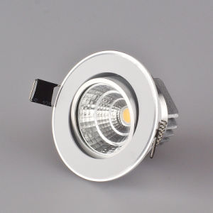 Adjustable LED Down Light, COB LED Downlight, LED Spotlight, (7W) pictures & photos