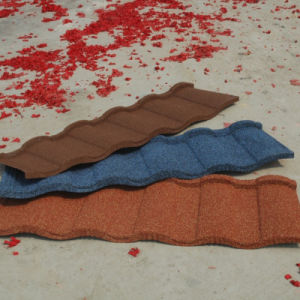 Roofing Tiles Coated with Stone Chips 1340mm*420mm pictures & photos