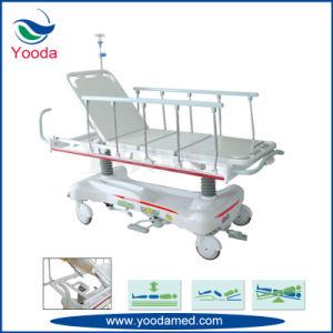 Backrest Manual Hospital Patient Transfer Stretcher pictures & photos