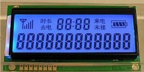 Stn Transflective LCD Display Digital Segment LCD Display pictures & photos
