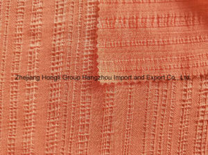 100% Polyester Pleats Chiffon for Ladies′ Garment pictures & photos
