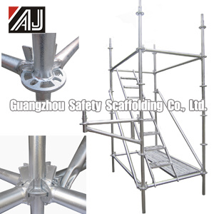 Galvanized Steel Lock Pin Scaffolding for Building Construction, Guangzhou Factory pictures & photos