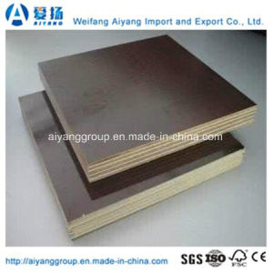 9mm Brown/Red Film Faced Plywood for Construction pictures & photos