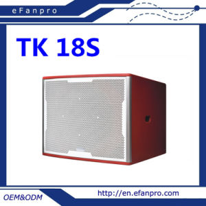 Beautiful in Colors Single 18 Inch Professional Speaker Box Subwoofer pictures & photos