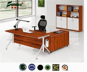 MFC Metal Frame High Quality Office Table pictures & photos