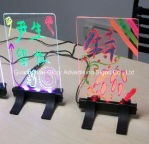 Desktop Hand Writing Advertising LED Poster Board pictures & photos