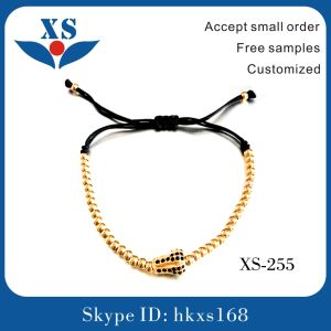 Gold Steel Beads Bracelets for Man pictures & photos