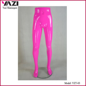 Pink Color Half Size Male Mannequin for Pants Display pictures & photos
