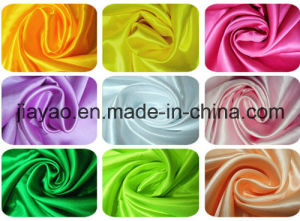 100 % Polyester Satin Fabric, Cheap Satin Fabric, Satin Fabric pictures & photos