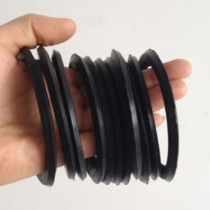 Hot Sale Rubber Material NBR, EPDM, FPM Flow Channel Gasket for Plate Heat Exchanger pictures & photos