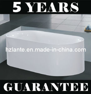 Freestanding Simple Bathtub with Eco-Friendly Material (LT-JF-7055) pictures & photos