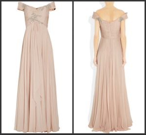 Stunning Chiffon Evening Dress Prom Gown (LP093)