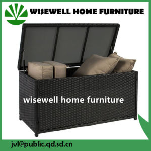 PE Rattan Outdoor Waterproof Cushion Storage Box (WXH-033) pictures & photos