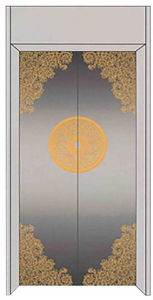 China Passenger Elevator with Hairline Stainless Steel pictures & photos