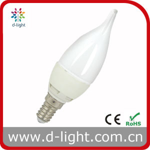 PBT Coated Aluminum Material 4W Cal35 LED Candle Lamp pictures & photos