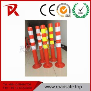 Reflective Traffic Plastic Safety Spring Post pictures & photos
