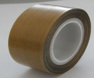 T0.18mm PTFE Tape Teflon Tape Fiberglass Adhesive Tape for Hot Sealing pictures & photos