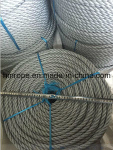 Grey PP Twisted Rope Danline Fishing 12mm pictures & photos