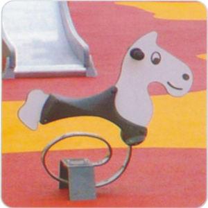 Galvanized Steel Outdoor High Quality Children Seesaw TEL0576