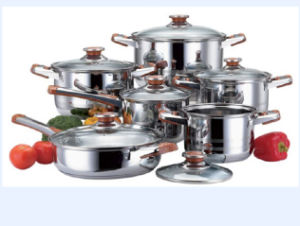 Cookware Stainless Steel Soup Pot Set pictures & photos