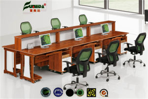 MFC High End Partition Office Table pictures & photos