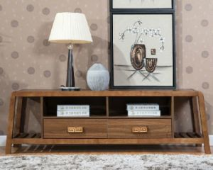 Solid Wooden Living Room Cabinet TV Stand (M-X2199) pictures & photos