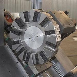 GSK Control System Slant Bed CNC Lathe (CK-80L) pictures & photos