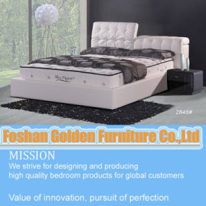 Latest Bed Designs, Genuine Leather Bed pictures & photos