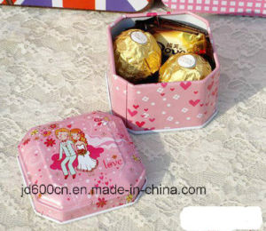 Small Tin Box/Tin Weddy Box/Tin Gift Box Customized Box Accept/Small Tin Box for Candybox pictures & photos