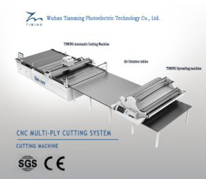 CNC Cloth Cutting Table Automatic Apparel Fabric Cutting Machine pictures & photos