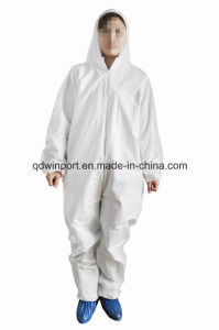 Disposable SMS/Sf Coverall with Ec Type-Examination Certificate (Type 5/6) pictures & photos
