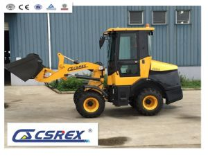 Multi-Function 1.0t Mini Tractor Front End Wheel Loader with Snow Bucket pictures & photos