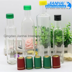 Oil Storage Glass Bottle with Screw Cap pictures & photos