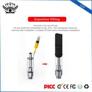 Buddytech Bud CH3 0.5ml Ceramic Heating Disposable Cbd Oil Cartridge Electronic Cigarette pictures & photos
