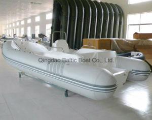 Rigid Inflatable Fiberglass Rib Boat with 580 Ce