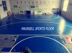 2017 New Product with High Quality Indoor PVC Interlock Floor for Indoor Sports pictures & photos