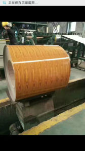 Wood Style PPGI Prepainted Galvanized Print Coating Steel Coil pictures & photos