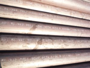 API 5L Psl1 Sch80 Seamless Pipe, Sch120 Steel Pipe, LSAW Sch160 Steel Pipe for Oil and Gas pictures & photos
