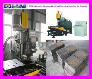 CNC Hydraulic Plate Punching and Drilling Machine (TPPD103)
