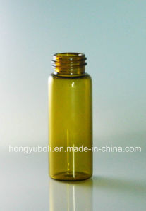 5ml Brown Screw-Neck Glass Bottle