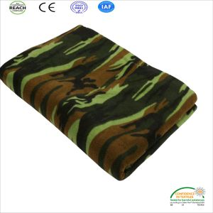 Cheap Price Polyester Polar Fleece Blanket pictures & photos