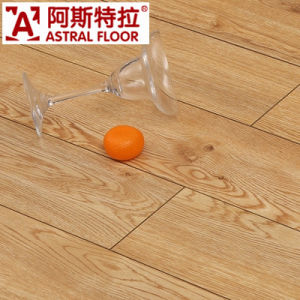 E1 Grade Silk Surface Oak Melamine Laminate Flooring (AN1907) pictures & photos
