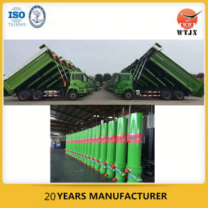 Hyvatype Telescopic Hydraulic Cylinder for Dump Truck pictures & photos