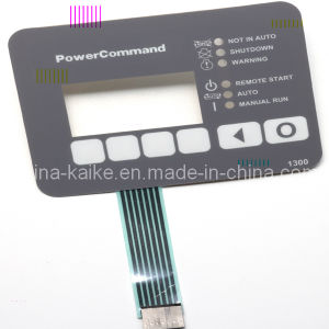 Micro Motion Membrane Switch Used in Outdoor Generating Equipment pictures & photos