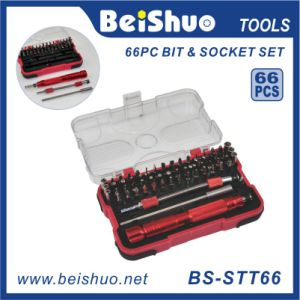 66-PCS Drive Socket and Screwdriver Bit Set pictures & photos