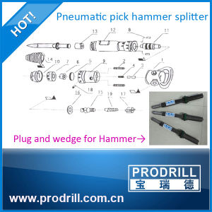 G90 Pneumatic Portable Hammer Pick Splitter pictures & photos